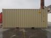 20' Shipping container cargo unit storage box open doors standard lock box waist high handles Double Door