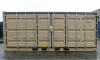 20' Shipping container cargo unit storage box open doors standard lock box waist high handles Open Side