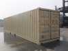 40' Shipping container cargo unit storage box open doors standard lock box waist high handles Double Doors