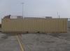 40' Shipping container cargo unit storage box open doors standard lock box waist high handles Double Doors