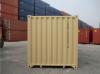 40' Shipping container cargo unit storage box open doors standard lock box waist high handles