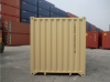 40' Shipping container cargo unit storage box open doors standard lock box waist high handles